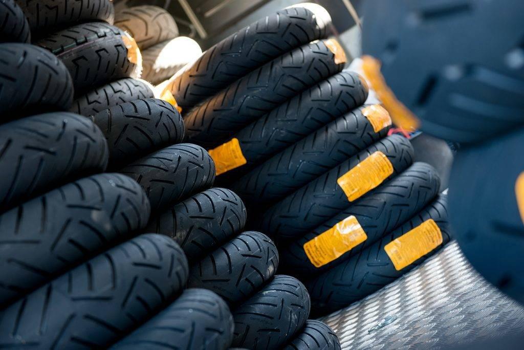 Reusing motorcycle tires