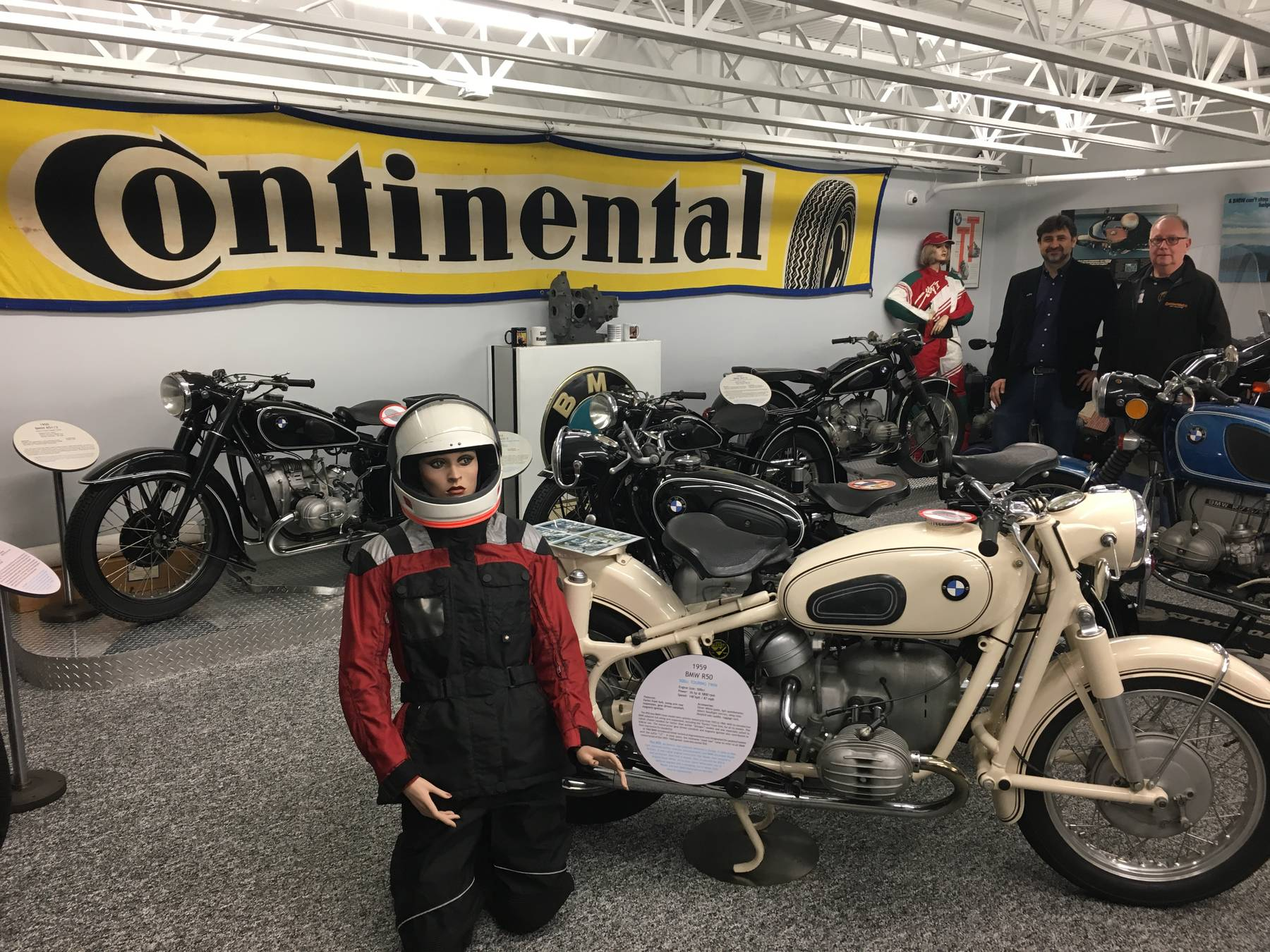 Bob S Bmw Museum A Collection Of Motorcycle History In Dc Contimoto Usa Blog