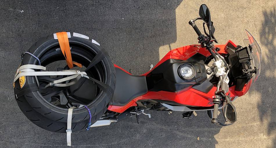 Tires on Motorcycle